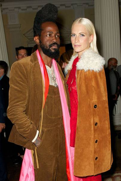 Roy Luwolt  and Poppy Delevingne