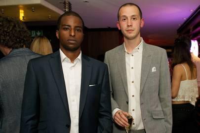 Hamza Omar and Lucas Mathiszig-Lee