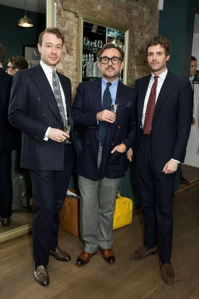 Aleksandar Cvetkovic, Richard Fuller and William Field