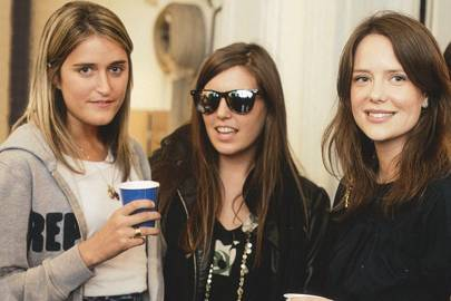 Violet von Westenholz, Amanda Sheppard and Arabella Musgrave
