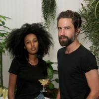 Julia Sarr Jamois and Jack Guinness