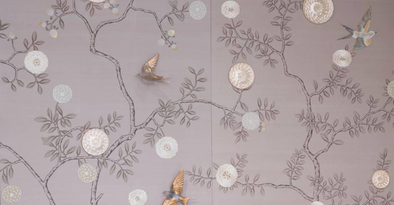 Lalique Fromental Wallpaper Collaboration Tatler