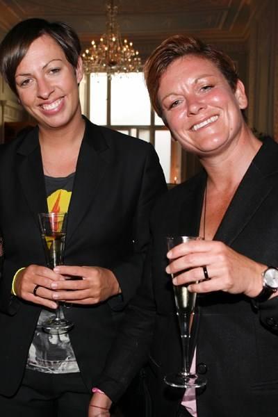 Linda Hewson and Sophie Pittaway