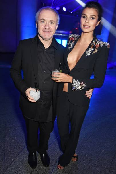 Damien Hirst and Katie Keight