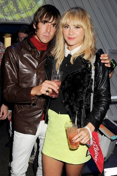 Miles Kane and Suki Waterhouse