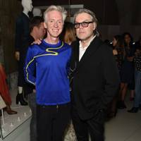 Philip Treacy and David Downton
