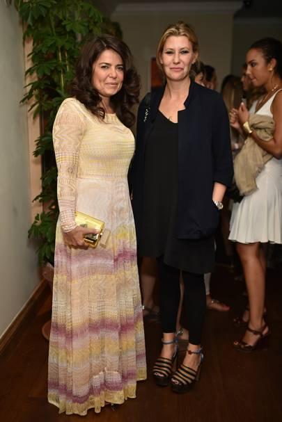 Danielle Helaye and Sara Parker Bowles
