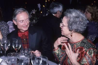 Roy Lichtenstein and Frances Lewis