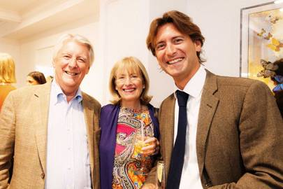 John Jeffrey, Diana Jeffrey and Nick Jeffrey