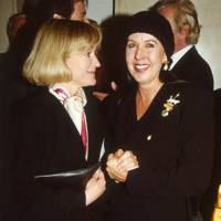 Joanna David and Mrs Mo Rothman