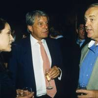Lady Rose Musker, Archie Stirling and Sir Tim Rice