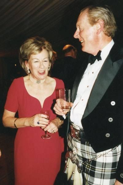 Countess Cadogan and Sir Ian Lowson