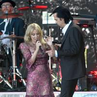 Kylie Minogue and Nick Cave