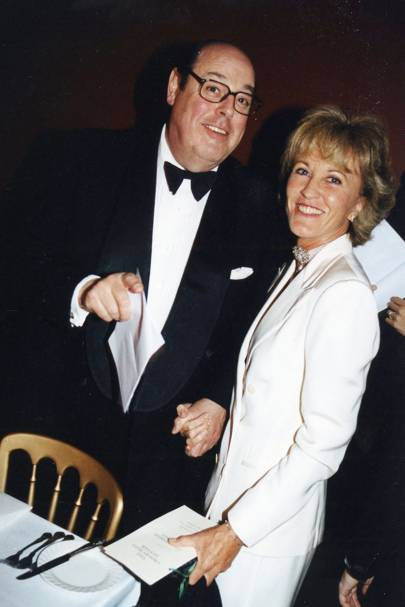 The Hon Nicholas Soames and Mrs Johnny Loudon