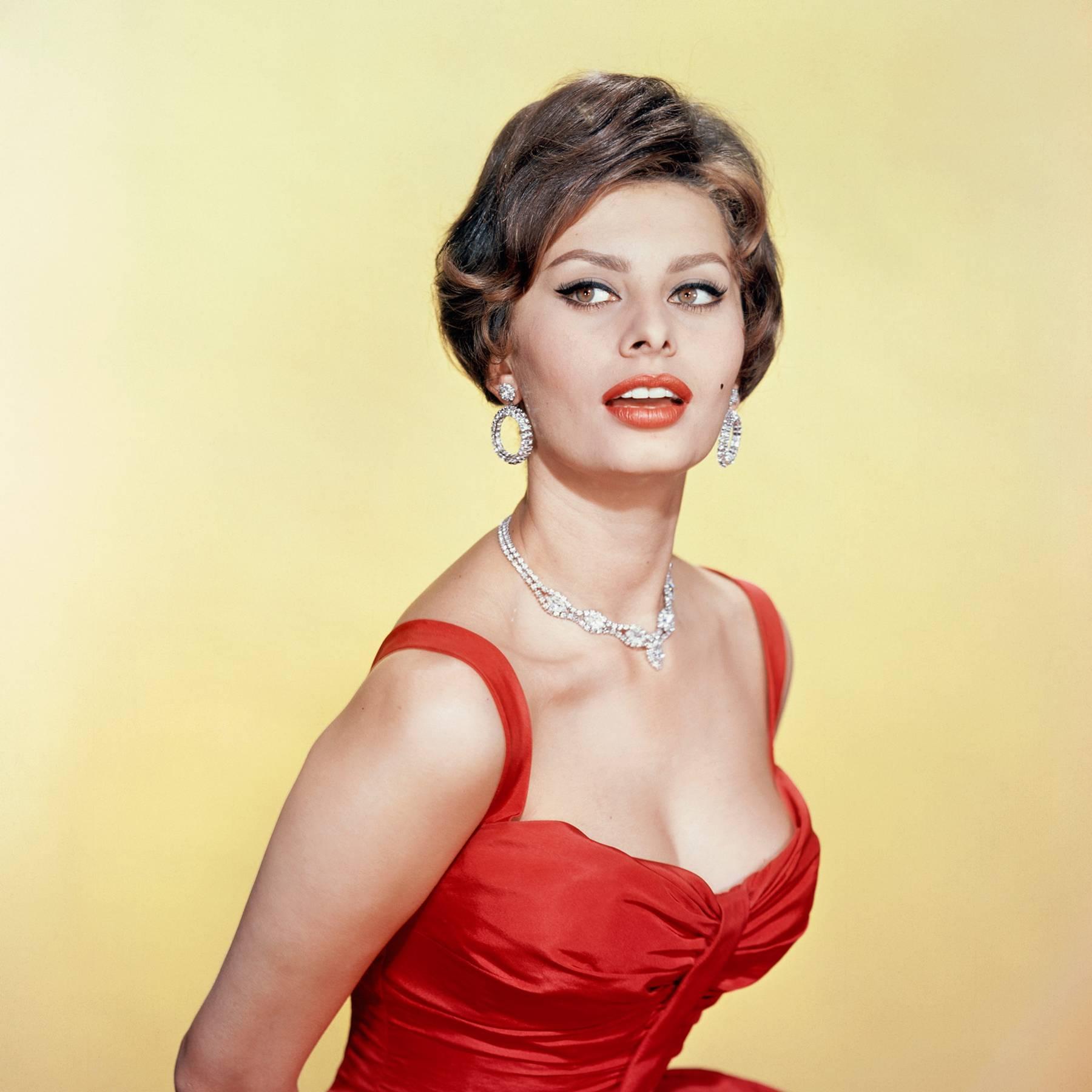 Sophia Loren The Life Ahead New Film Awards Season Oldest Oscar Nominee Tatler