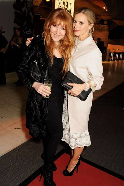 Charlotte Tilbury and Laura Bailey