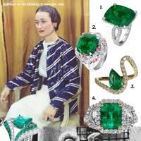 Wallis Simpson – Emeralds