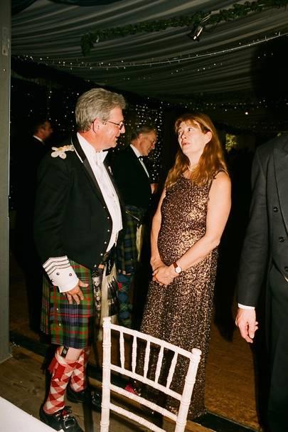 The Earl of Kinnoull and Helen Murray Threipland
