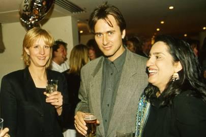 Dr Sarah Gill, Marcus Gilbert and Mrs Marcus Gilbert