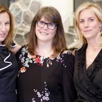 Emma Parlons, Baroness Delyth Morgan and Bec Astley Clarke