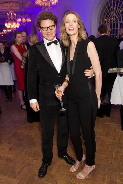 Kristian Robson and Davinia Robson
