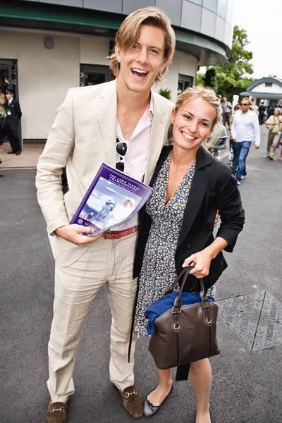 Matt Richards and Caroline Brotchie