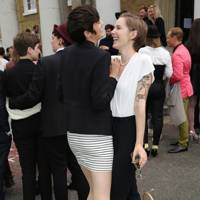 Brooke Palmieri and Alice Cullingworth