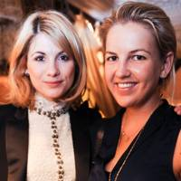 Jodie Whittaker and Hanneli Rupert
