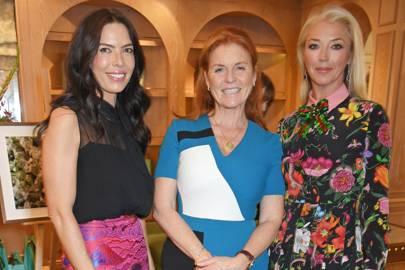 Josephine Daniel, Sarah, Duchess of York and Tamara Beckwith