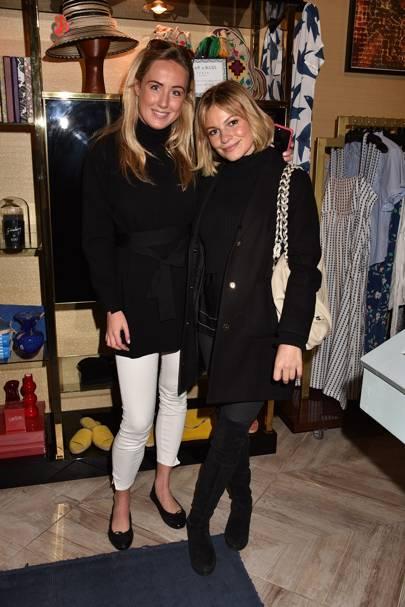 Jemima Cadbury and Chantal Piper