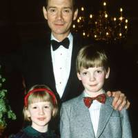 Naomi MacLean, Anthony Andrews and Joseph MacLean