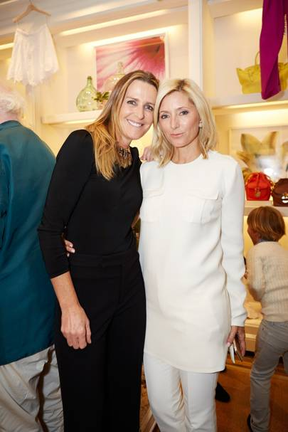 Princess Marie-Chantal of Greece and India Hicks