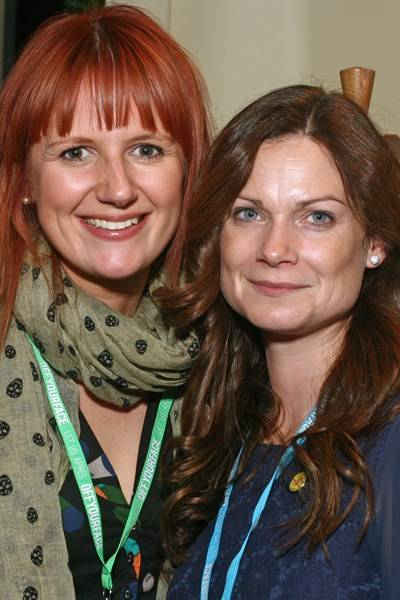 Eve Fayle and Sarah Tuckwell