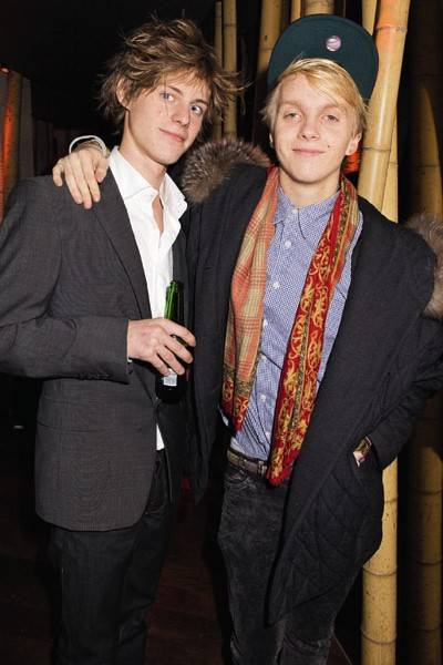 Lord Worsley and Nick Larsden
