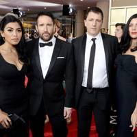 Mariqueen Maandig, Trent Reznor, Atticus Ross and Liberty Ross