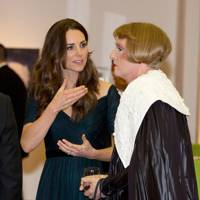 The Duchess of Cambridge and Grayson Perry