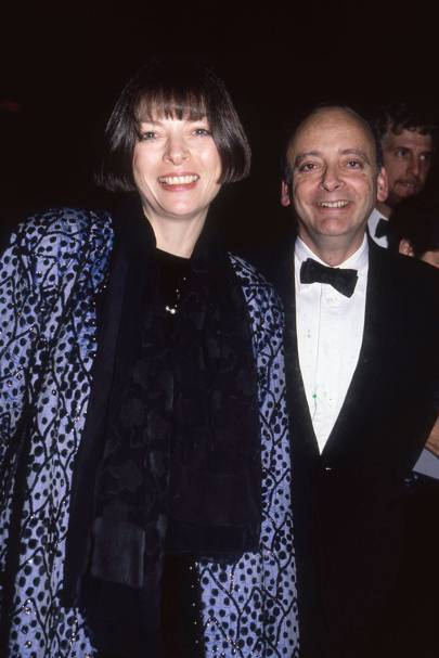 Anna Wintour and David Shaeffer