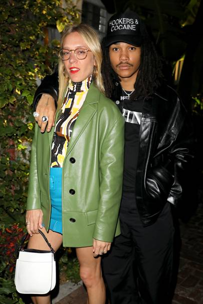 Chloë Sevigny and Luka Sabbat