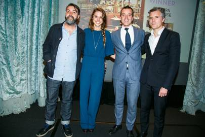 Nuno Mendes, Alessandra Balazs, Guillaume Marley and Guillaume Glipa