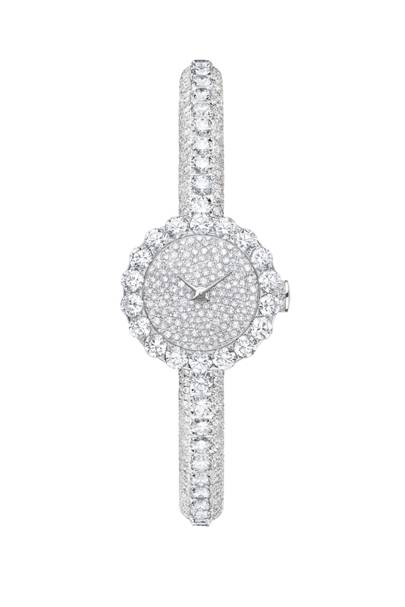 White-gold and diamond watch, £168,000, by Dior