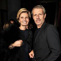 Sabina Belli and Lambert Wilson