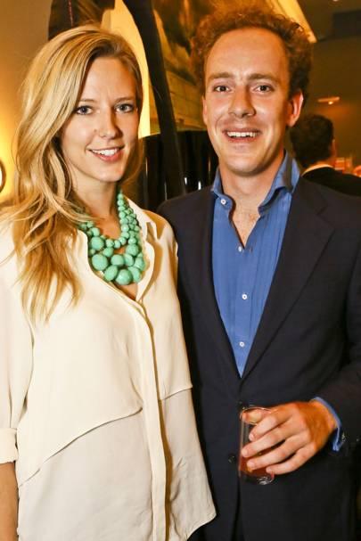 Olivia Hunt and Tom Inskip