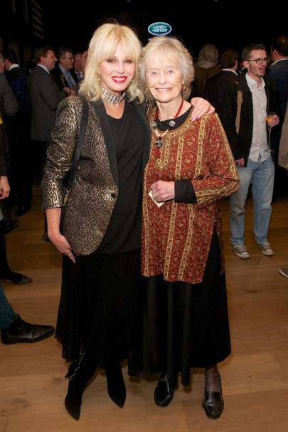 Joanna Lumley and Virginia McKenna