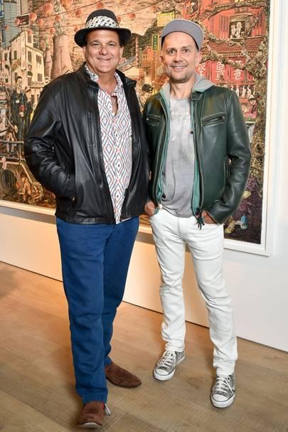Gerry Fox and Marc Quinn
