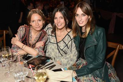 Martha Ward, Amanda Sheppard and Lady Alice Manners