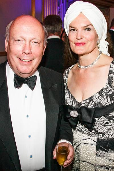 Lord and Lady Emma Fellowes of West Stafford