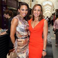 Louise Hazel and Jessica Ennis Hill