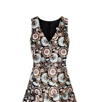 Jacquard dress, £450, by J Crew