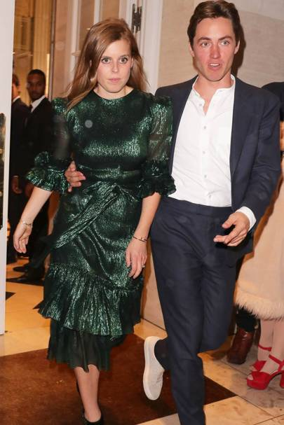 Princess Beatrice and Edoardo Mappeli Mozzi