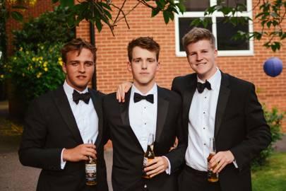 Tristan Louveaux, Thomas Powe and Oliver Hill